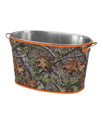 Occasionally Made Orange & Mossy Oak Party Bucket