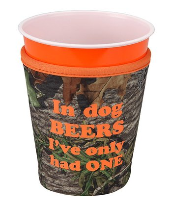 Occasionally Made 'In Dog Beers' Cup Cozy