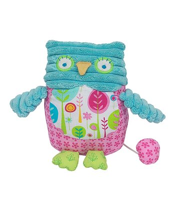 Blue & Pink Owl Musical Toy