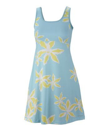 Clear Blue Starry Night Freezer II Dress - Women
