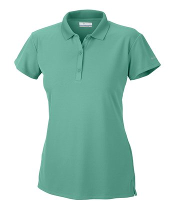 Glaze Green Innisfree Polo - Women
