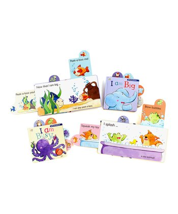 I Am Big & I Am Busy Slide Board Book Set