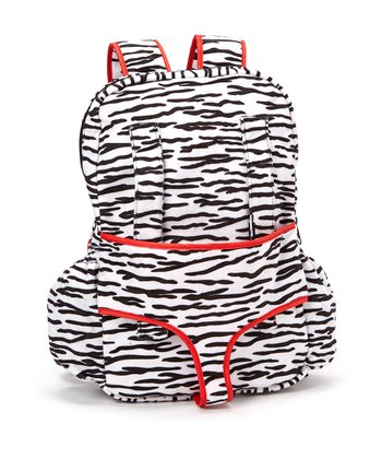 Zebra Sassafras Doll Carrier Backpack