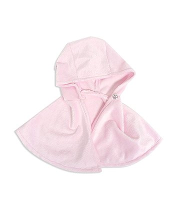 Pink Hooded Doll Poncho