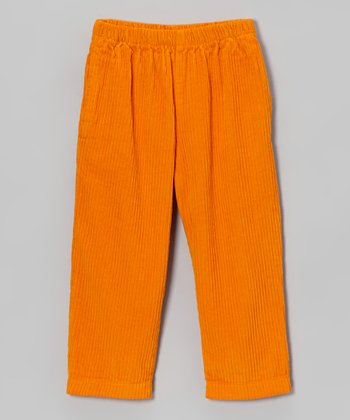 Pumpkin Corduroy Pants - Infant, Toddler & Boys