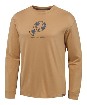 Golden Pie Simplify Organic Long-Sleeve Tee - Men