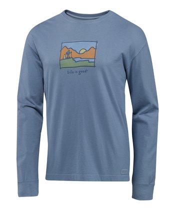 Shadow New Sunrise Crusher Long-Sleeve Tee - Men