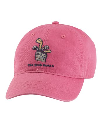 Dusty Pink 'The Club Scene' Chill Baseball Cap - Women