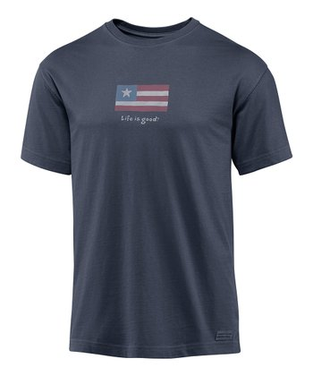 True Blue Flag Crusher Short-Sleeve Tee - Men