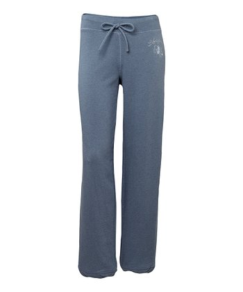 True Blue Heathered French Terry Bliss Sweatpants - Women