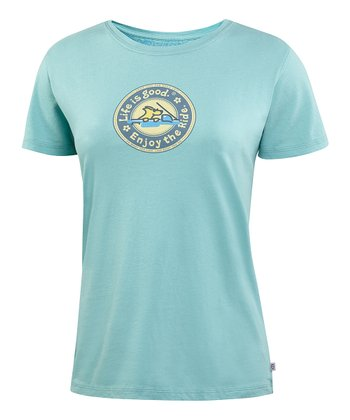 Tide Blue Cruisin' Heritage Creamy Tee - Women