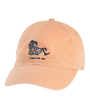 Tangerine Orange 'Lean on Me' Chill Cap - Women