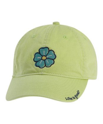 Citron Green Hibiscus Chill Cap - Women