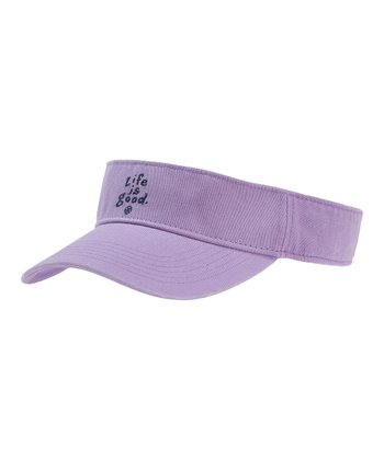 Soft Purple Visor - Women