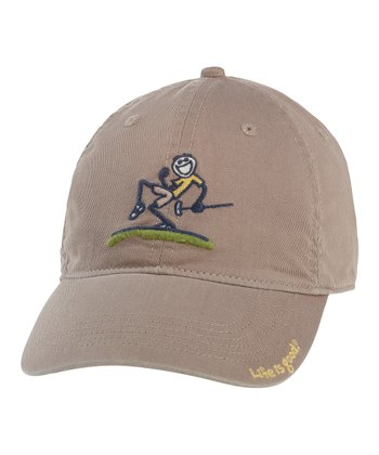 Acorn Brown Jake Pump Putt Chill Cap - Men