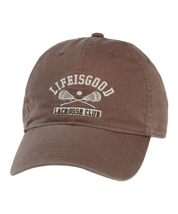 Brown Lacrosse Chill Cap