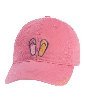 Hot Pink Flip-Flop Chill Cap