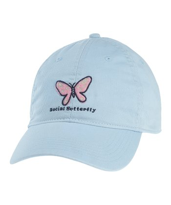 Sky Blue 'Social Butterfly' Chill Cap