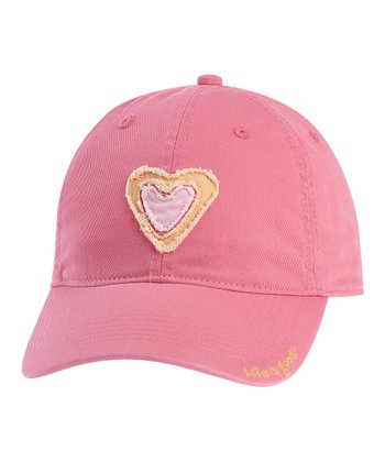 Hot Pink Heart Rugged Chill Cap
