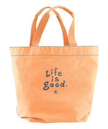 Tangerine Orange Essentials Tote