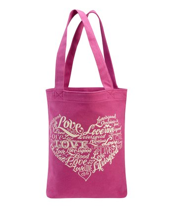 Hot Fuchsia Love Tote