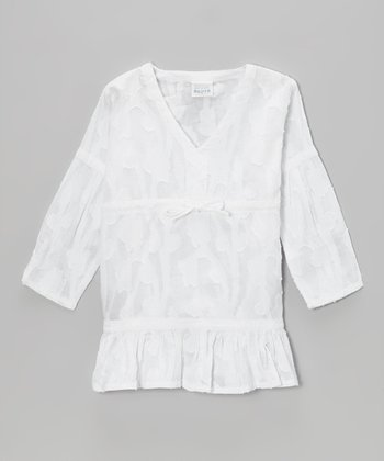 White Shanti Tunic - Toddler & Girls