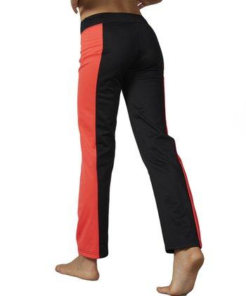 Diva Pink Yoga Pants - Girls