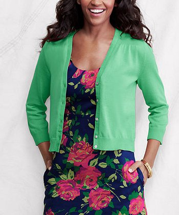 Wintergreen Supima Dress Cardigan - Petite & Women