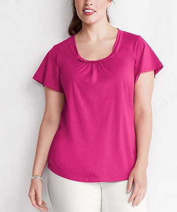 Laurel Blossom Braided Top - Plus