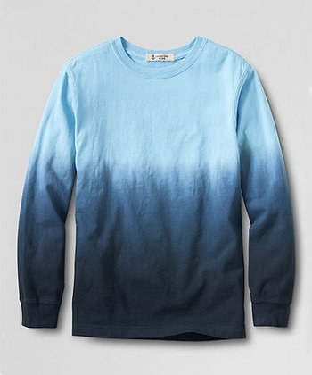 Blue Ombré Tee - Toddler & Boys