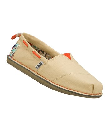 Natural Global Welfare Slip-On Shoe