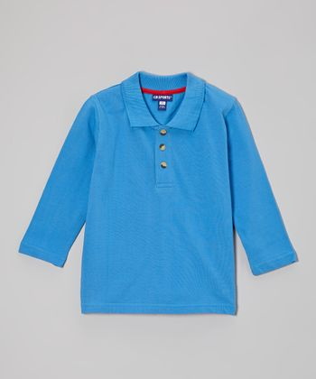 New Blue Polo - Infant, Toddler & Boys