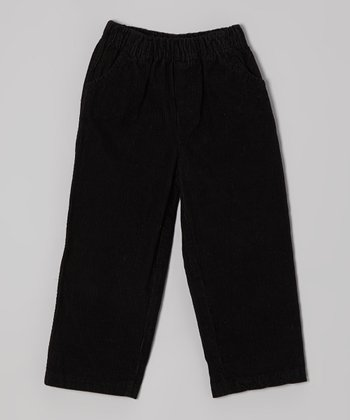 Black Corduroy Pants - Infant & Toddler