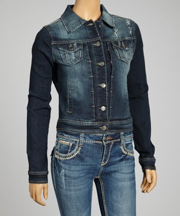 Dark Blue Chloe Denim Jacket