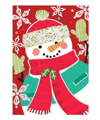Carrot Nose Snowman Card - Set of 18