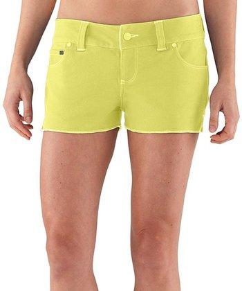 Raft Yellow Mohawk Shorts