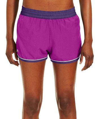 Strobe Pink & Purple Rain Great Escape II Shorts