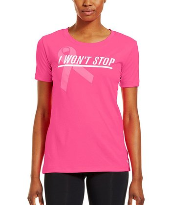 Cerise Power in Pink® 'I Won't Stop' Tee