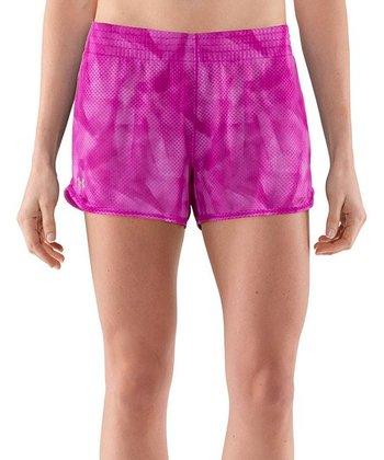 Strobe Pink Fly-By Knit Shorts