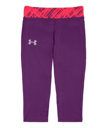 Hendrix HeatGear® Sonic Capri Pants - Girls