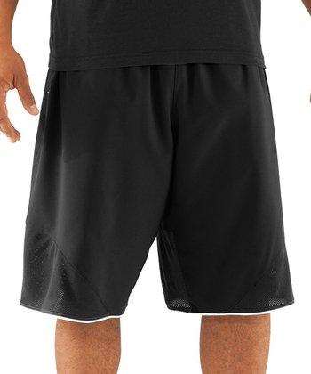 Black Rickter Basketball Shorts - Men & Tall