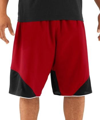 Red Rickter Basketball Shorts - Men & Tall