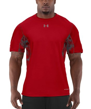 Red Coldblack® Two-A-Day Football Tee - Men & Tall