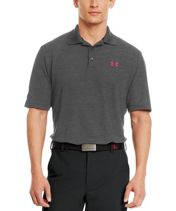 Carbon Heather PIP Performance Polo - Men & Tall