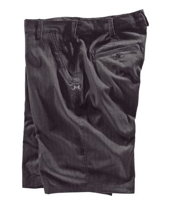 Carbon Heather Forged Stripe Golf Shorts - Men & Tall