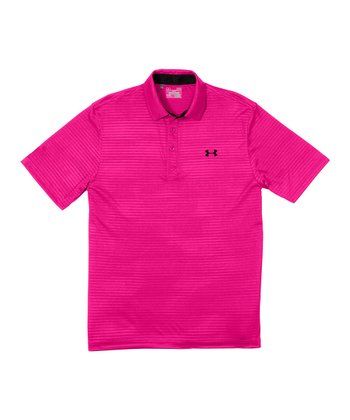 Tropic Pink PIP Embossed Polo - Men & Tall