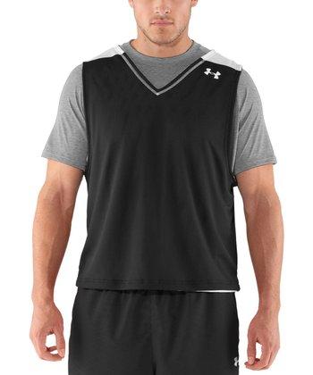 Black Practice Jersey - Men & Tall