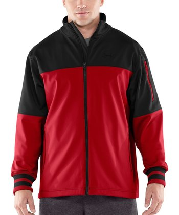 Black Storm Contender Softshell Jacket - Men & Tall