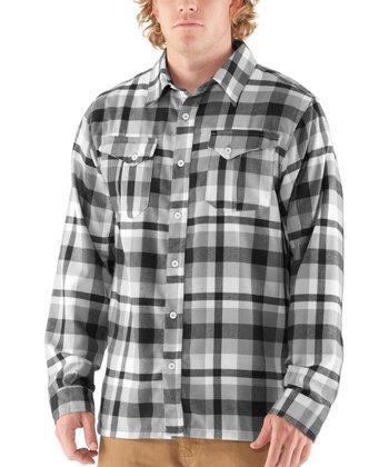 Black Legit II Flannel Button-Up - Men & Tall