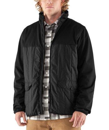 Black Oh Gee Zip-Up Jacket - Men & Tall